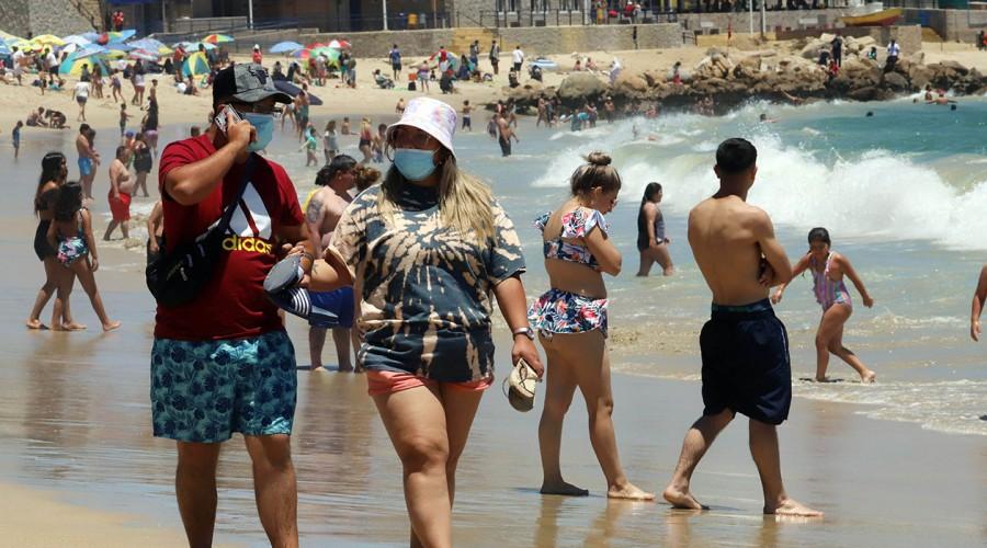 Balnearios y zonas turísticas: Estos son los números de contagios por comuna