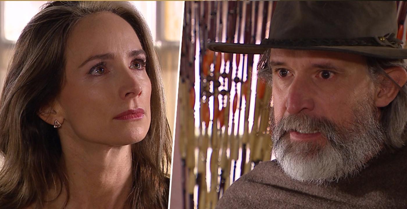 El reencuentro entre Elena y Oscar León