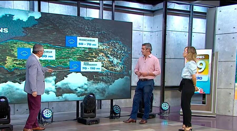 ¿Qué es el río atmosférico?: Jaime Leyton explica el fenómeno meteorológico que ocurrirá este fin de semana