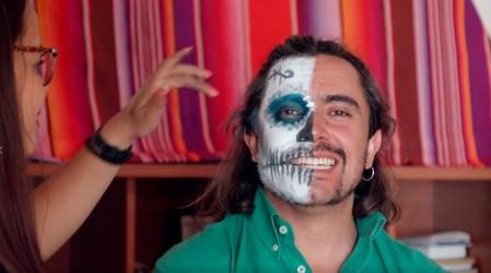 La cultura y sabores mexicanos cautivaron a Koke Santa Ana y Javiera Contador