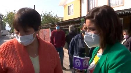 """""""Hemos perdido todos nuestros alimentos"""":  Vecinos de Huechuraba llevan cinco días si luz"""