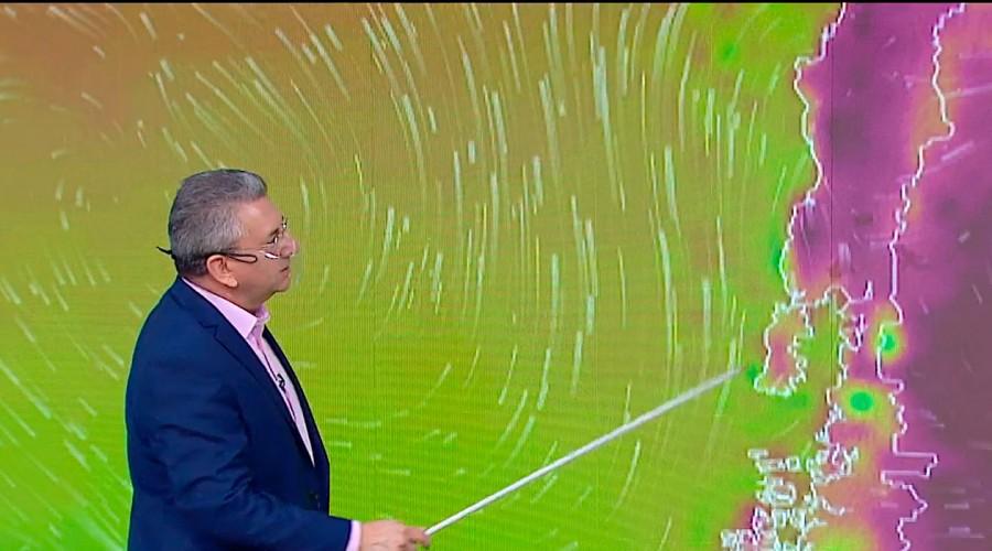 Meteorólogo anuncia ola de calor para la zona centro sur del país