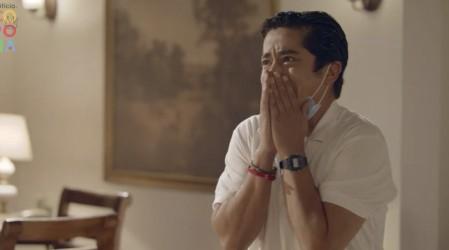 Carlitos descubrió a Sergio besándose con Ágata