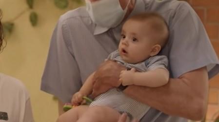 Conoce al bebé que interpreta al hijo de Miguel en Edificio Corona
