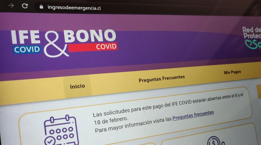 Bono Covid e IFE: La postulación es apelable solo requiere tener actualizado el Registro Social de Hogares