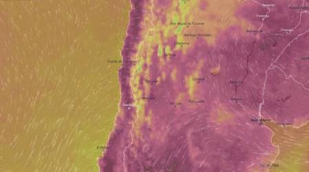 Alerta roja en Cajón del Maipo: Michelle Adam explica las condiciones meteorológicas en la zona