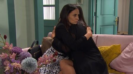 Gracia invitó a Eliana a quedarse en su casa