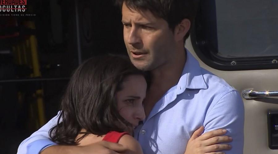 """""""Me dio penita Rocío"""": Escena entre la abogada y Diego conmovió a seguidores de Verdades Ocultas"""