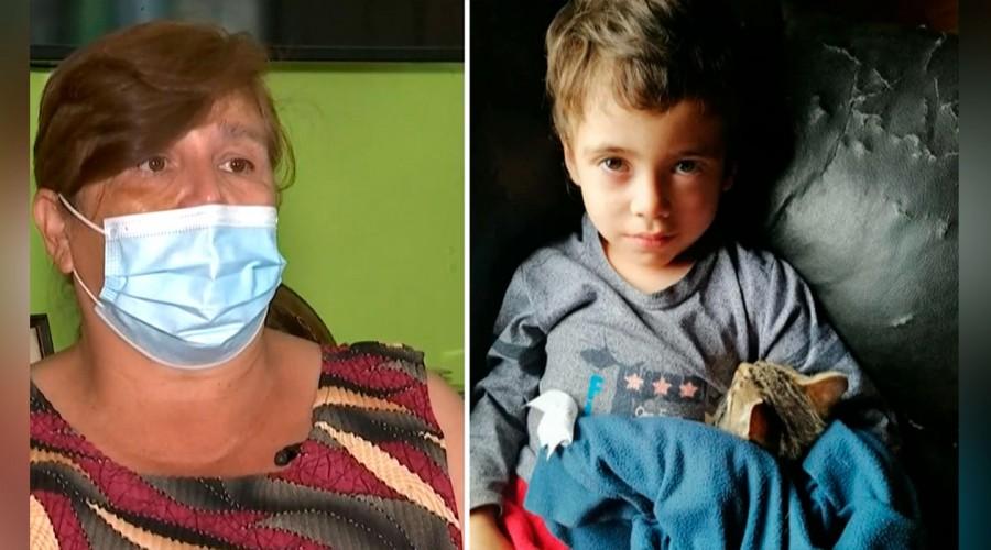 """Abuela paterna de Tomás Bravo lo recuerda: """"Siempre va a estar en mi corazón"""""""