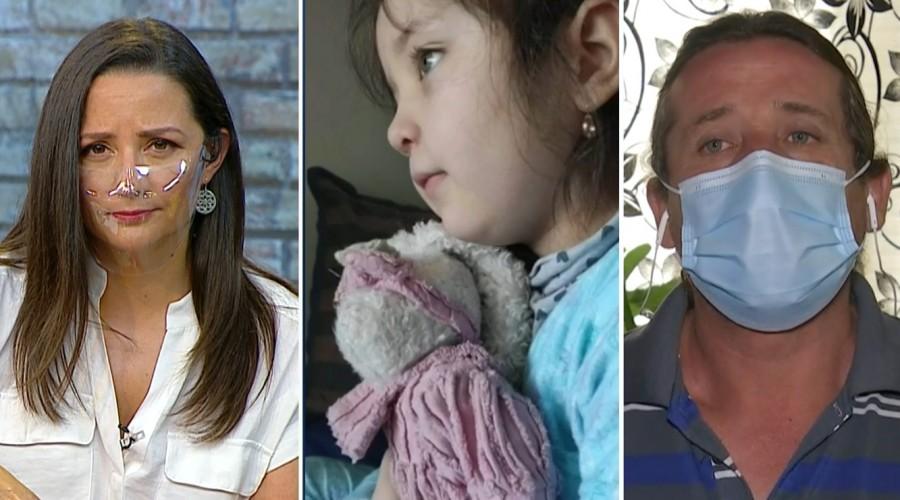 """Abuelo de niña baleada en encerrona hace llamado: """"Si tienen registros de lo que sucedió, lo hagan llegar"""""""