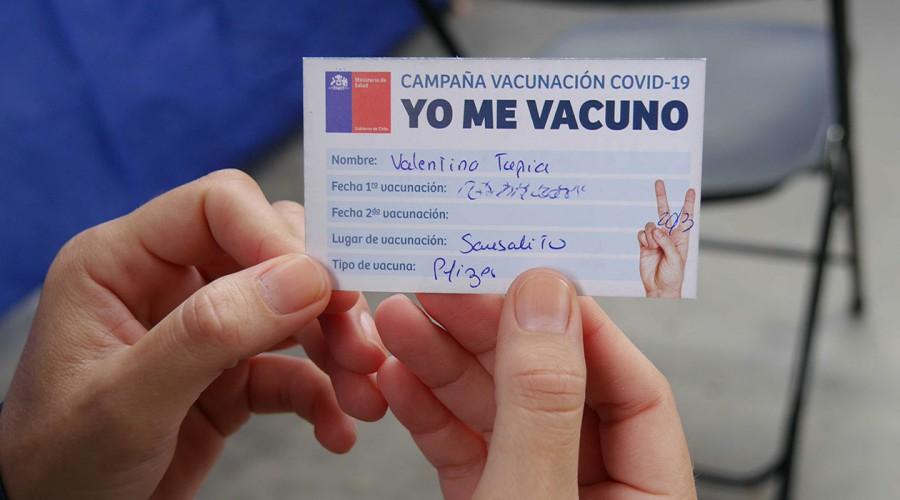 Comenzó el proceso de vacunación de segundas dosis contra el coronavirus