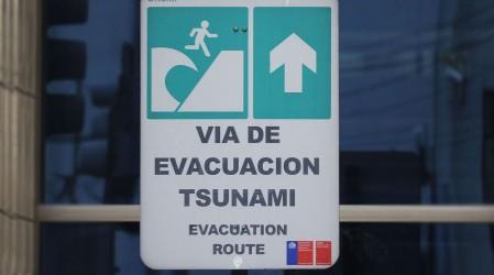 Posible tsunami menor en Chile: Estos son los horarios en que podría llegar la ola en las diferentes zonas