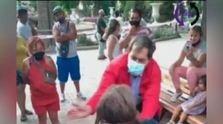 Alcalde de San Felipe agredió con una cachetada a persona en situación de calle