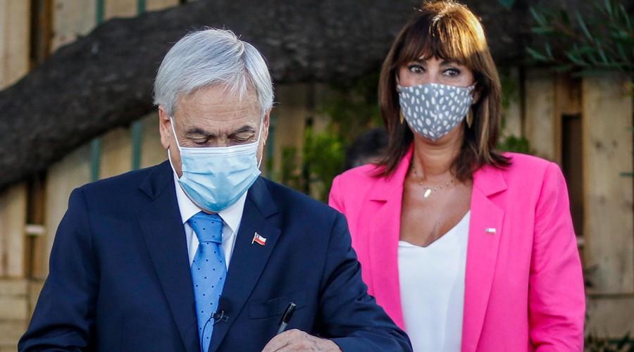 Piñera anuncia mayor protección a víctimas de violencia familiar y más sanciones a los agresores de menores