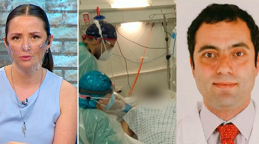 """""""La situación es crítica a nivel del país"""": Médico internista sobre la ocupación de camas en hospitales"""