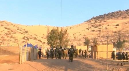 Nuevo desalojo de toma en Renca: Cerca de 300 efectivos de Carabineros llegaron al lugar