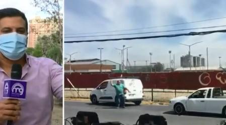 Discusión entre conductores por choque finaliza en grave atropello en Macul