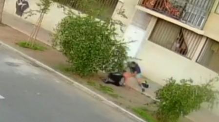 Mujer y su pequeño hijo sufren grave asalto y son atacados con un destornillador