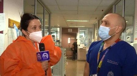 Karla Constant retrata la difícil realidad de la UCI del Hospital Barros Luco a causa del Covid-19