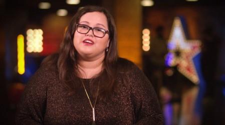 Aracely Lavín emocionó al jurado con su voz y una dedicada canción