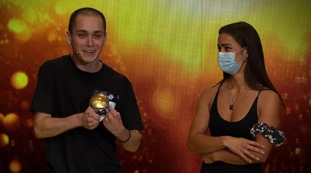 Ganador del botón de oro: Luis Miranda hizo reír a todo el jurado con su Stand Up Comedy