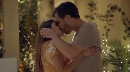"""""""Muriendo de amor"""": Seguidores de Edificio Corona felices tras el primer beso de Javiera y Pablo"""