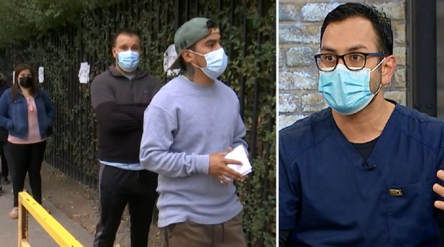 Error de vacunación en San Bernardo: 10 personas reciben segunda dosis de vacuna equivocada
