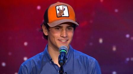 Nicolás Ruiz impactó al jurado con su áspera voz y su gran talento