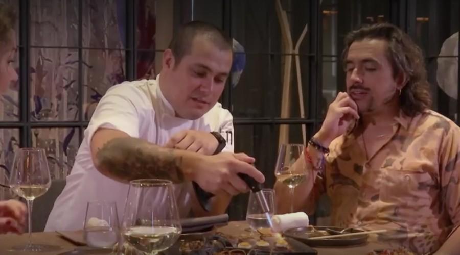 Koke Santa Ana y Javiera Contador conocen la verdadera receta de la comida japonesa