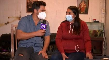 """""""Pensé que se iba a morir"""": Madre de bebé rociado con gas pimienta por Carabineros habló del incidente"""