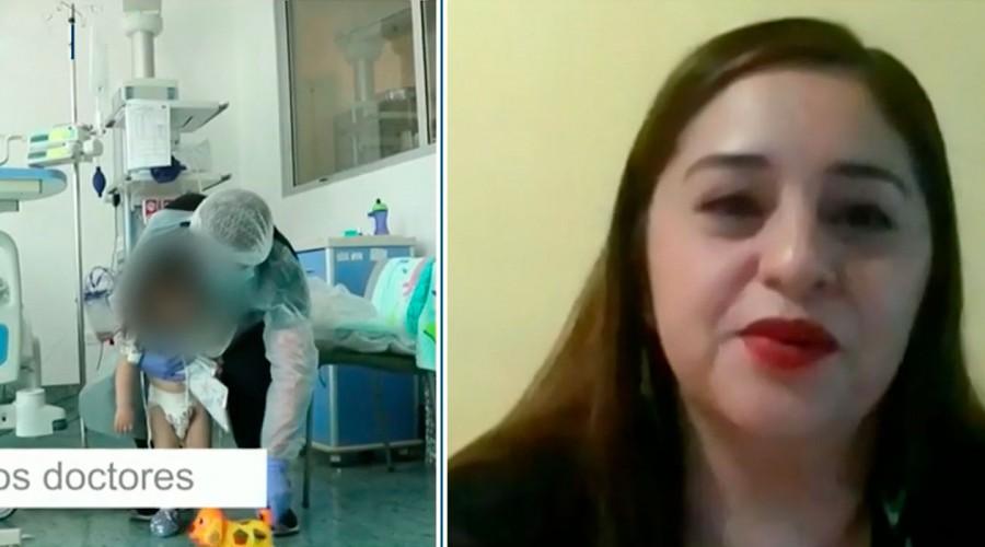 """""""Mi hija deliraba"""": Madre de niña que sobrevivió al PIMS relata su experiencia con la enfermedad"""