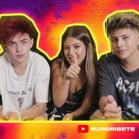 """""""Quién es más probable a..."""": Ignacia Antonia puso a prueba a sus amigos Axel y Kevlex"""