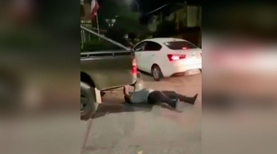 Insólita pelea en Los Ángeles: Pastor evangélico fingió atropello tras una discusión con militares
