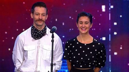Sofía y Ramiro sorprendieron al ritmo del Swing