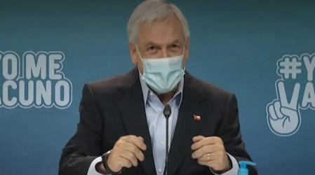 """Presidente Piñera anuncia que la decisión de elecciones de abril será """"oportuna"""""""