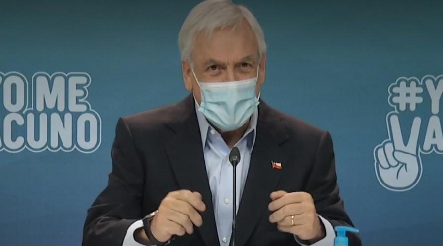 """Presidente Piñera anuncia que posible postergación de elecciones en abril será anunciada de forma """"oportuna"""""""