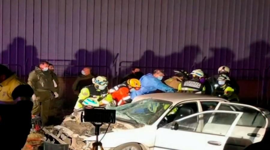 Niño de 10 años choca auto contra un tren en Coronel: Su familia lo acompañaba