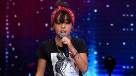Sofía Bonilla dejó al jurado con la boca abierta con su gran talento para el canto