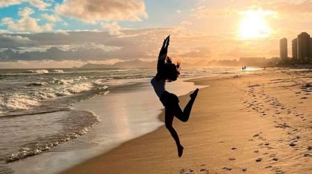 Puestas de sol junto al mar: Así Gala disfruta de su vida en Brasil