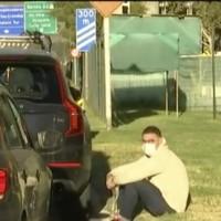 José Antonio Neme quedó atrapado en un taco y en panne: Grúa llegó a rescatar su auto