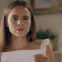 Javiera leyó la carta de Carolina