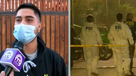 """""""Quedé en shock, no me salían las lágrimas"""": Hijo de presunto parricida en San Bernardo da su testimonio"""