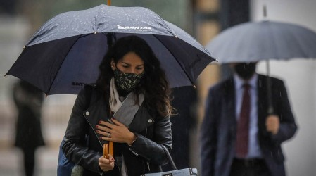¡A prepararse!: Pronostican lluvias otoñales en la Región Metropolitana