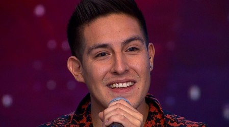 Cristopher Herrera emocionó e hizo bailar al jurado con su voz y gran talento