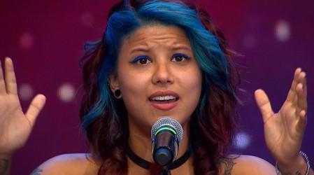 Gabriela lo dejó todo en el escenario con su talento musical y una voz única