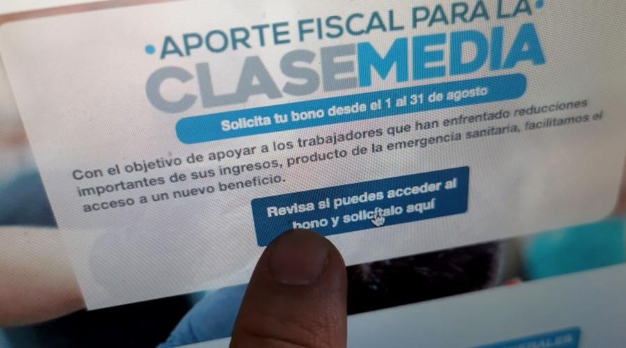 SII habilitará plataforma para postular al Bono Clase Media en la tarde: Usuarios reclaman por retraso