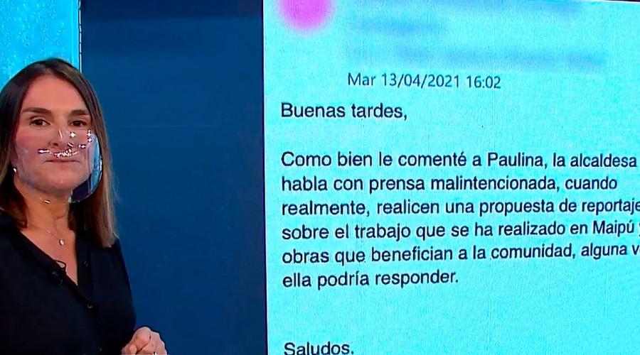 Cathy Barriga responde a Paulina de Allende-Salazar en reportaje de denuncia de Mucho Gusto
