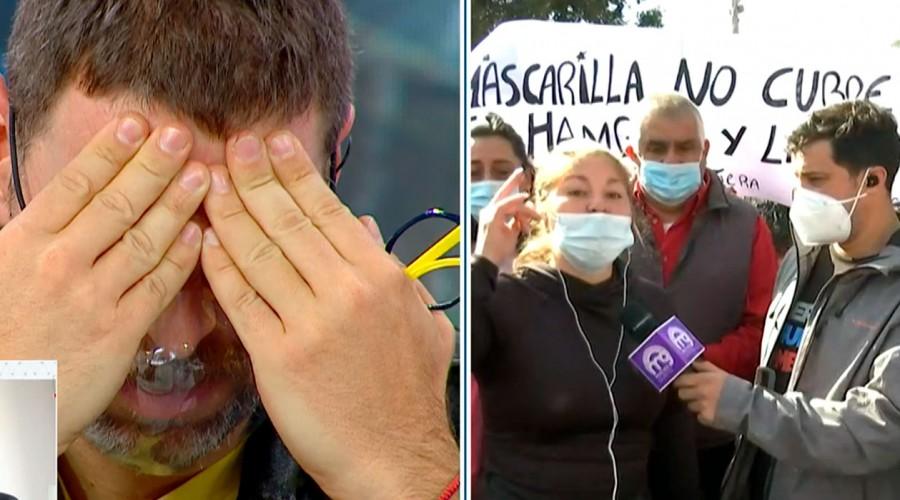José Antonio Neme rompe en llanto tras historia de hombre que perdió dos de sus hijos en la pandemia