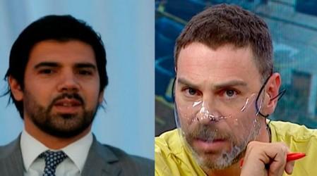 José Antonio Neme respondió en tenso momento a Joaquín Lavín Jr. tras acusación de conflicto de interés