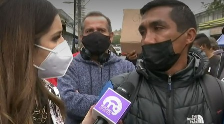 Vecinos de Maipú se manifiestan en Mucho Gusto por falta de trabajo y ayuda social